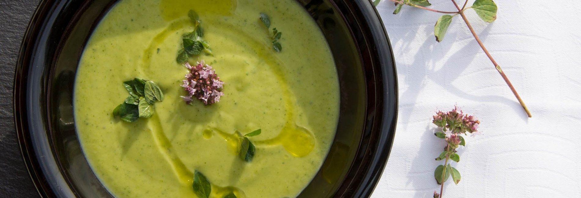 Soupe healthy : soupe aux courgettes